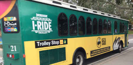 The I-Ride trolleys