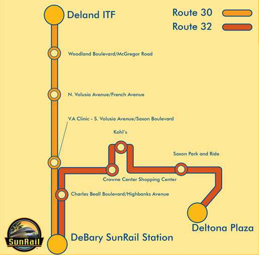 DeBary SunRail Station Connector