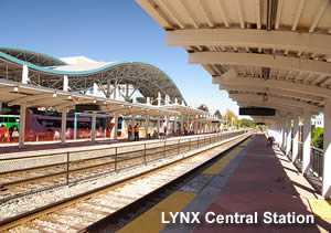Lynx Central SunRail Station