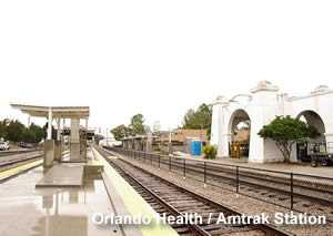 SunRail Orlando Health / Amtrak Station