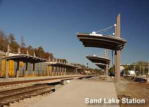 Sand Lake Road SunRail Station